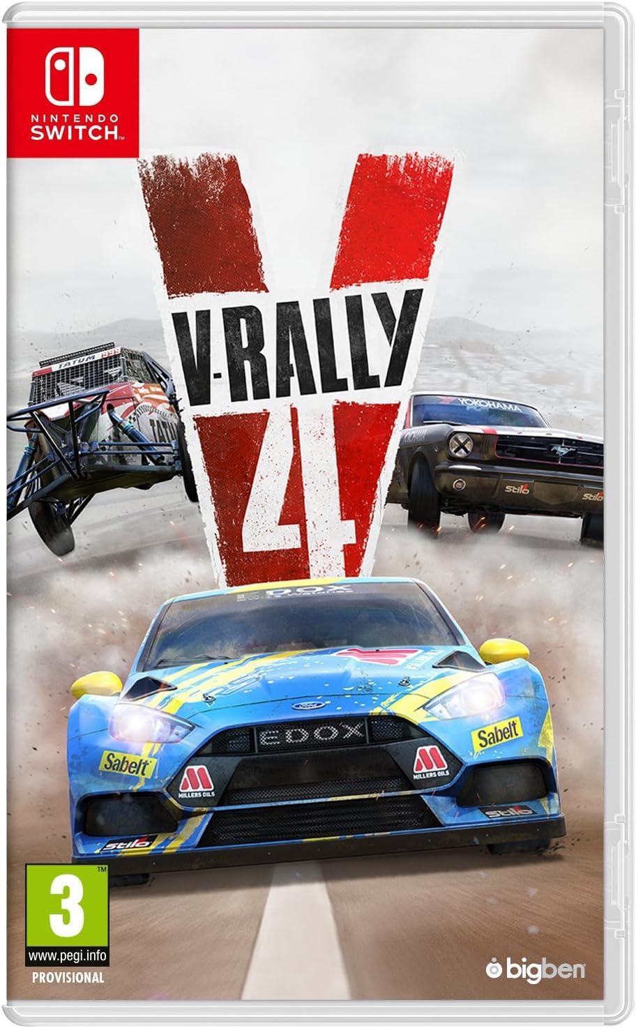 V-Rally 4 - Nintendo Switch [Importación inglesa]: Amazon.es: Videojuegos