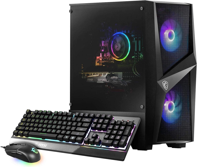 MSI Codex R 10SI-003US (i5-10400F, 8GB RAM, 512GB SSD, GTX1660 Super 6GB, Windows 10) Gaming Desktop