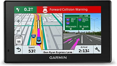 Garmin 010-01682-03 DriveAssist 51 LMTHD 5 Automotive GPS with Dash Cam