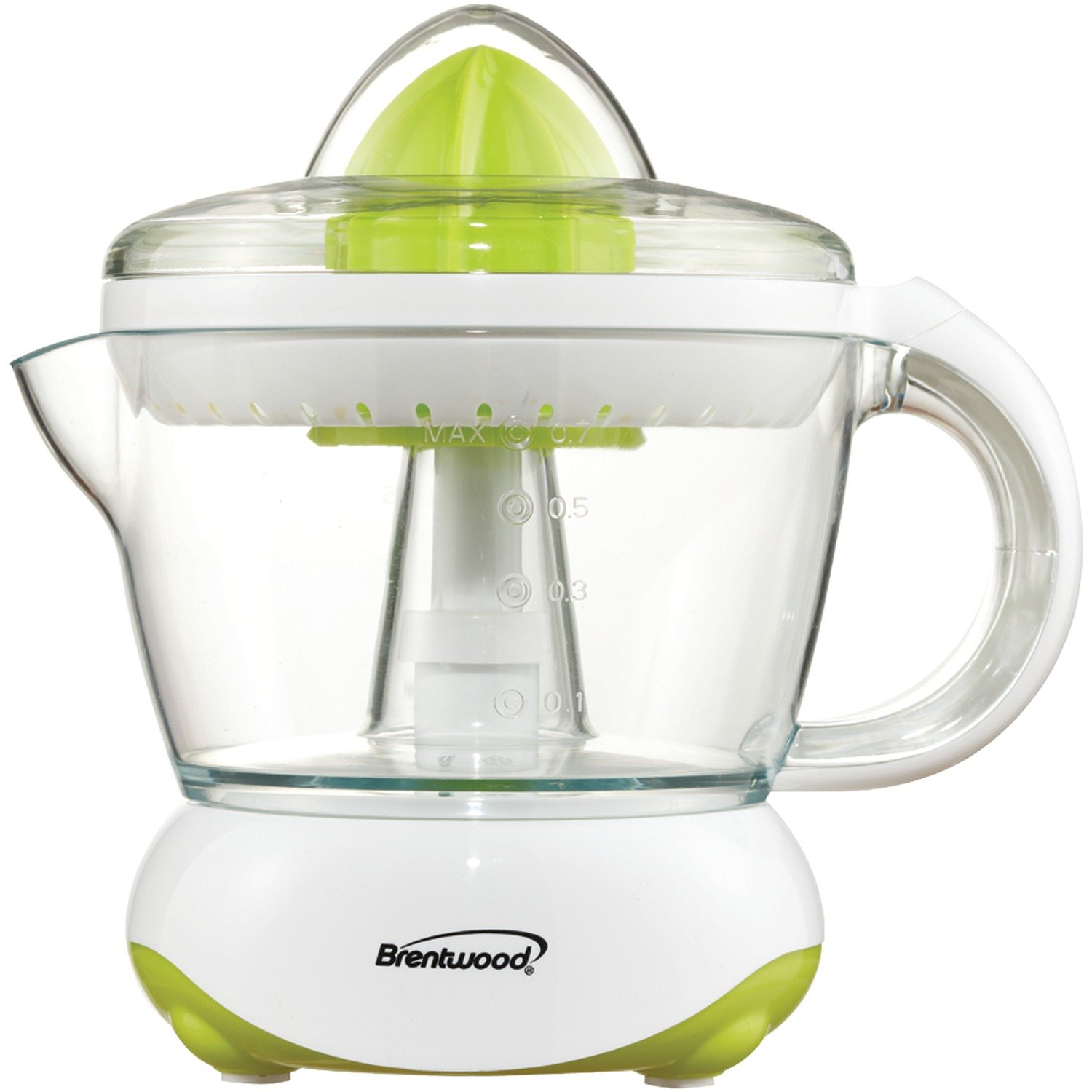 Brentwood J-15 24oz Electric Citrus Juicer, White White Brentwood Appliances