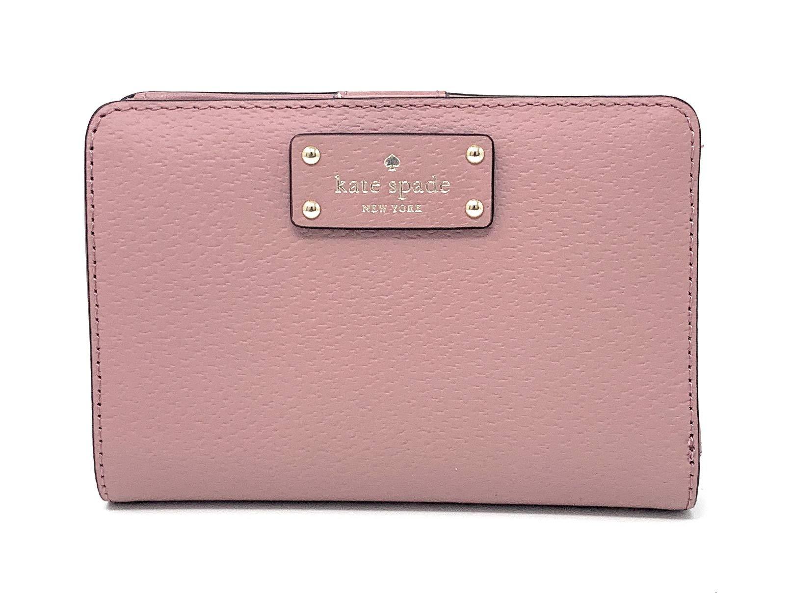 Kate Spade New York Grove Street Tellie Bifold Wallet (Dusty Peony)