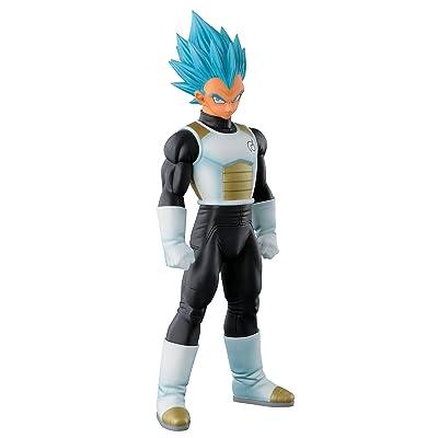 "Banpresto Dragon Ball Z 9.1"" Super Saiyan God Super Saiyan Vegeta Master Stars Piece Figure: Toys & Games"