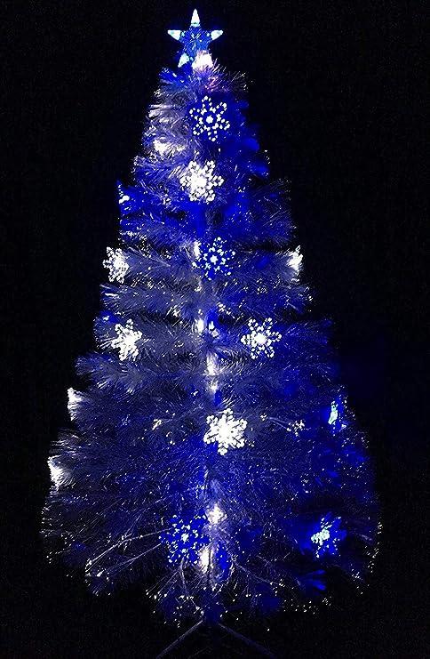 Fibre Optique Arbre de Noël Couleur Changeante Noël Lumière Décoration 60 cm Golden
