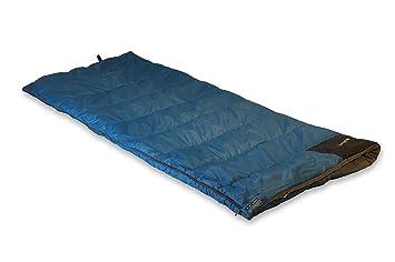 High Peak Ceduna - Saco de dormir, tamaño 200 x 80 cm, color azul/azul oscuro: Amazon.es: Ropa y accesorios