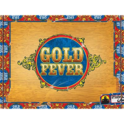 Gold Fever Board Game: Toys & Games