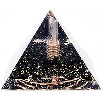Pirámide de orgonita con protección EMF hecha a