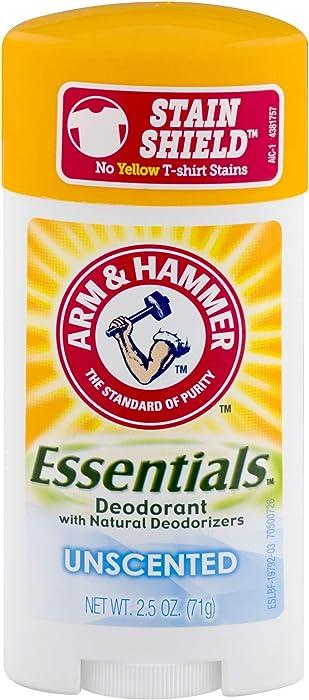 The Best Arm  Hammer Essentials Deodorant Unscented