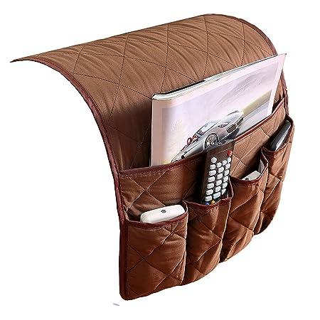 Sofa Caddy,Arm Rest Organiser Armrest Caddy Pocket Organizer Sofa Couch  Chair Arm Chair Caddy