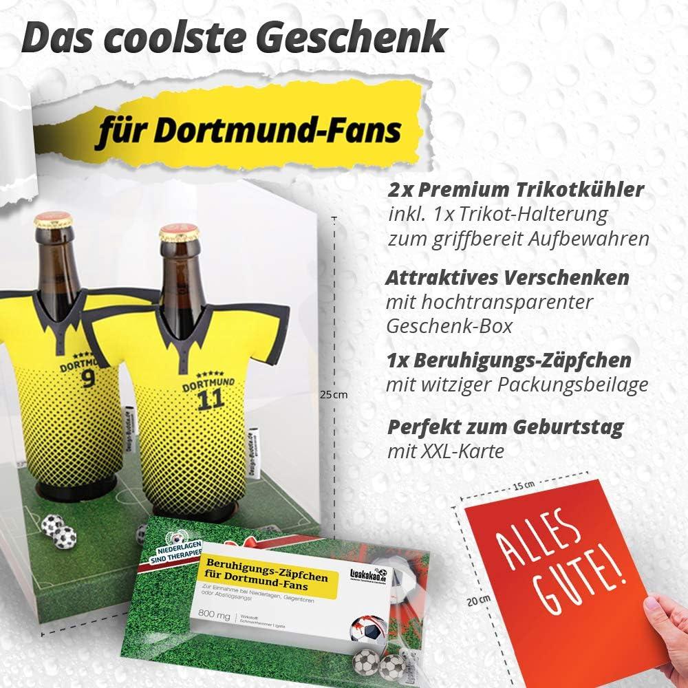 """W/ähle unsere verr/ückten M/änner Geschenk-Sets /über /""""Farbe/"""" aus Gegentoren /& Abstiegsangst Beruhigungs-Z/äpfchen/® f/ür Dortmund-Fans Lakritz-Z/äpfchen f/ür Dortmund-Fans zur Einnahme bei Niederlagen"""