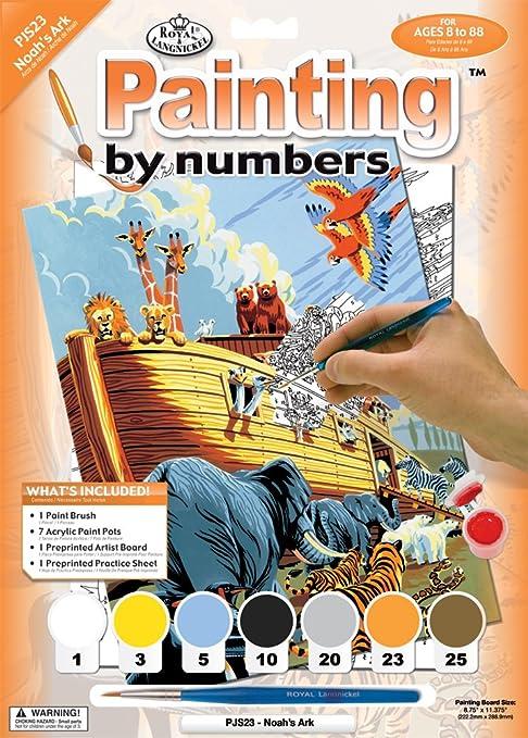 Royal & Langnickel - Juguete de pintura por números Vettel ...