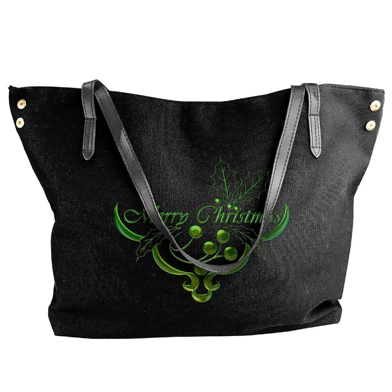 Merry Christmas Dumplings Handbags For Women Black