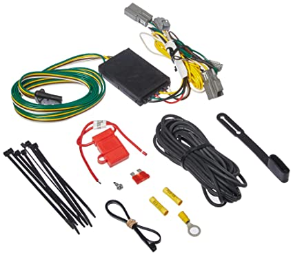 amazon com: curt manufacturing 56319 custom trailer wiring harness  (provides a 4-way flat connector for specific chevy vehicles): automotive