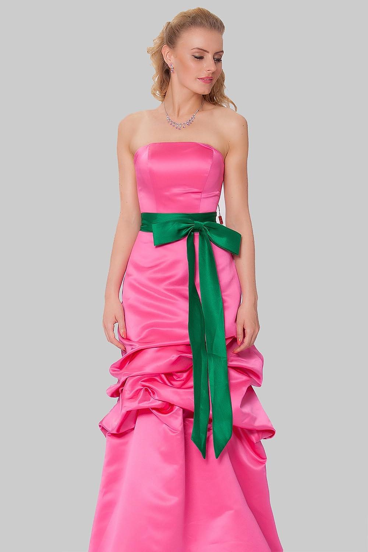 SEXYHER Gorgeous Full Length Strapless Bridesmaids Formal Evening Dress - EDJ1573