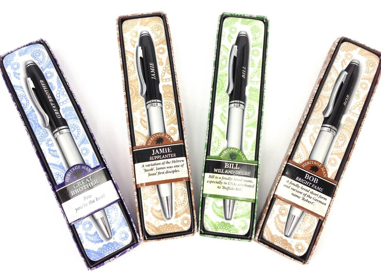 Man's Name Pen / Pens Gift Boxed - Billy Symbology