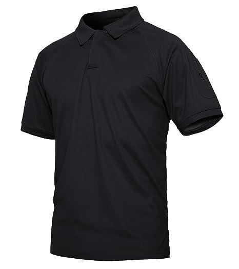 KEFITEVD Camiseta de Protección UV de Secado Rápido Hombre Slim ...