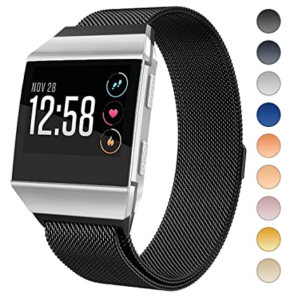 Amazon.com: Lilycase Fitbit Ionic Bands,Milanese Loop ...
