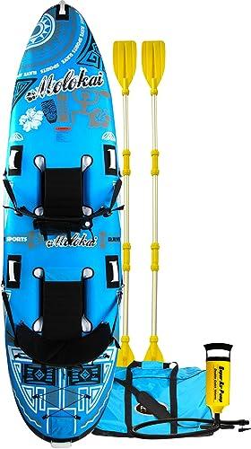 Plastic Carbon/Kevlar 2-Person Kayak [Rave Sports] Picture