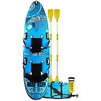 RAVE Molokai Kayak (136 X 35 X 8-Inch, Blue/White)