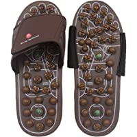 BYRIVER Acupressure Foot Massage Mat Relaxer Reflexology Massage Tools Pain Relief Health Shoes Relaxation Gifts for Parents(L)