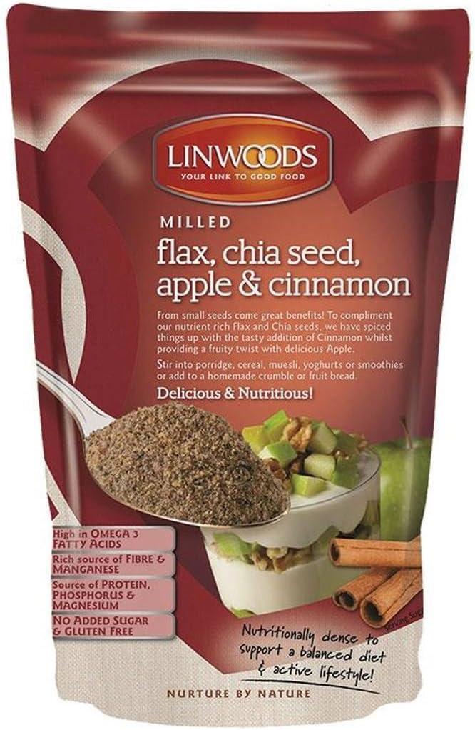 Linwoods | Flax,Chia,Apple & Cinnamon | 1 x 200g