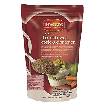 Linwoods | Flax,Chia,Apple & Cinnamon | 1 x 200g: Amazon.es ...