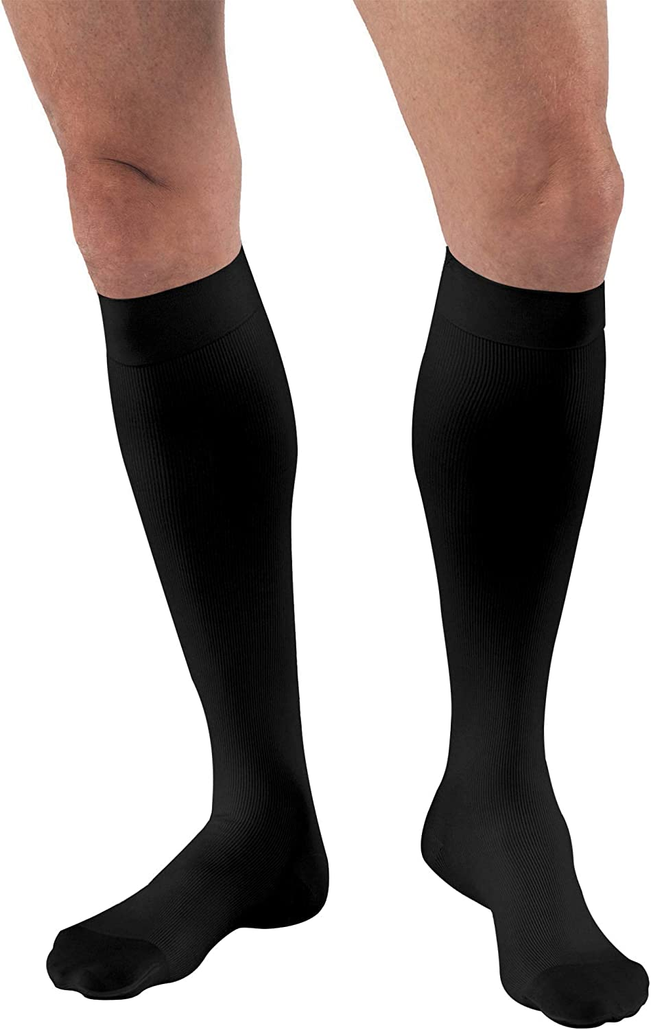 B003XA3P7Y JOBST for Men Knee High Closed Toe Compression Stockings, Extra Firm Legware for All Day Comfort for Males, Compression Class- 20-30 71%2BJOQgFieL