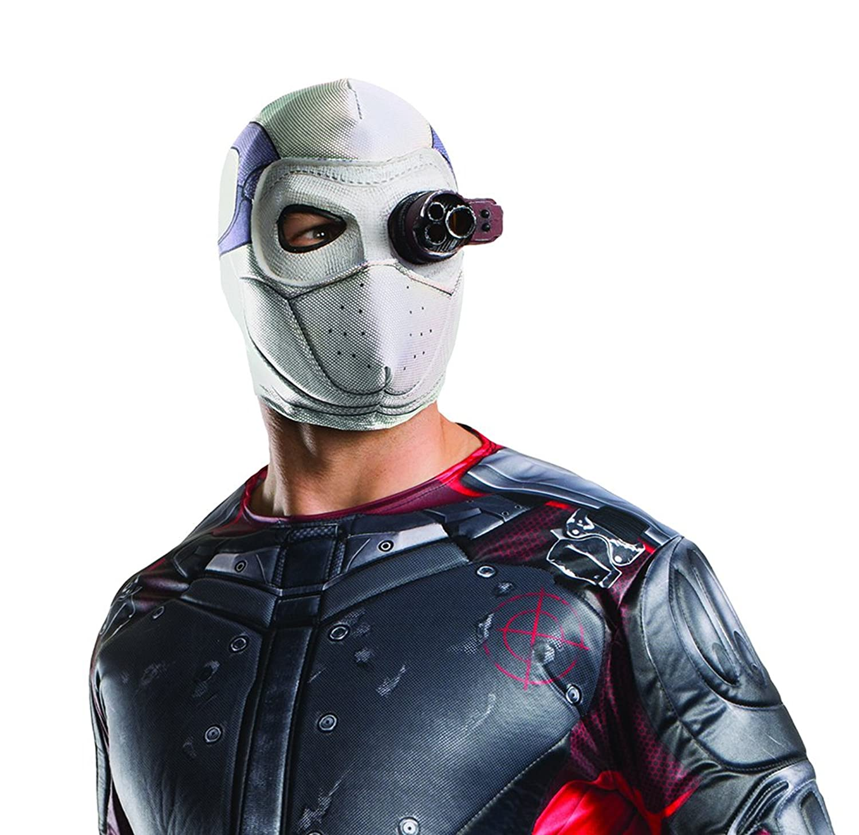 Amazon.com: Rubie's Costume Co. Men's Suicide Squad Deadshot Mask ...