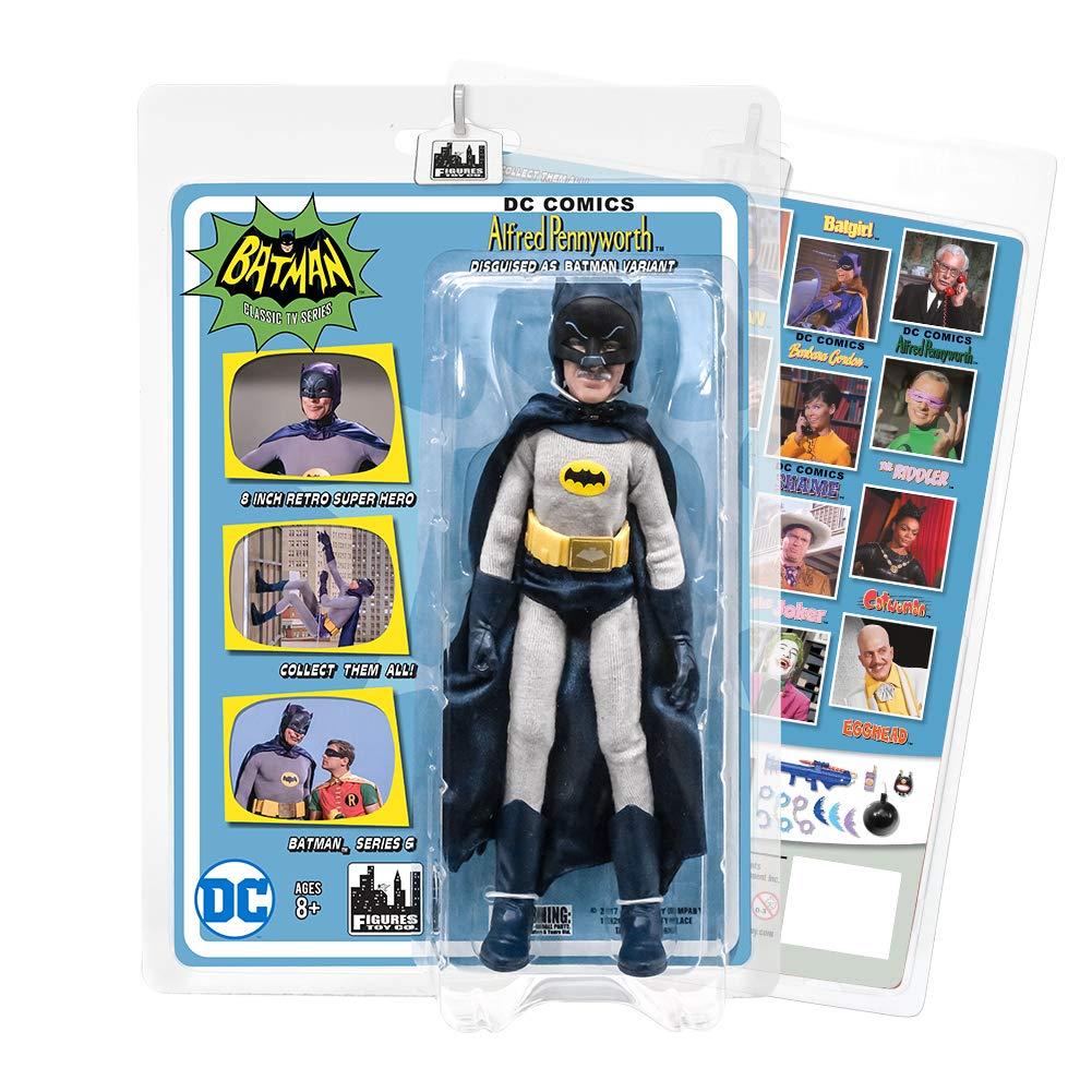 Batman Classic 1966 TV Series Action Figures Series 6 Alfred Disguised as Batman