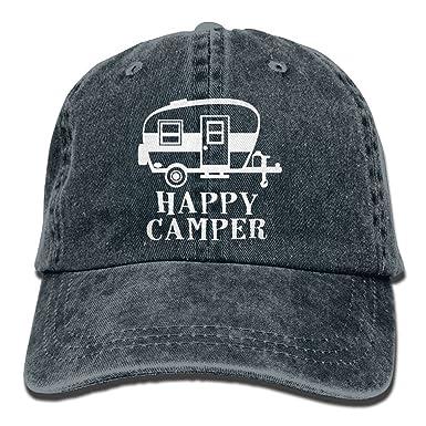 AINCIY Gorra de béisbol Happy Camper-1 Gorros de Golf para Mujer ...