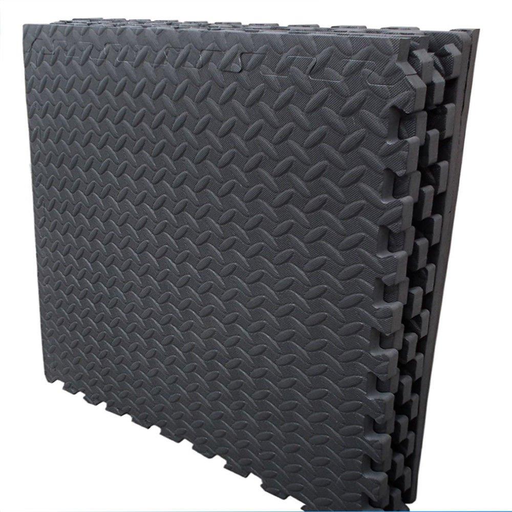 Interlocking sqft mats gym garage anti fatigue flooring play