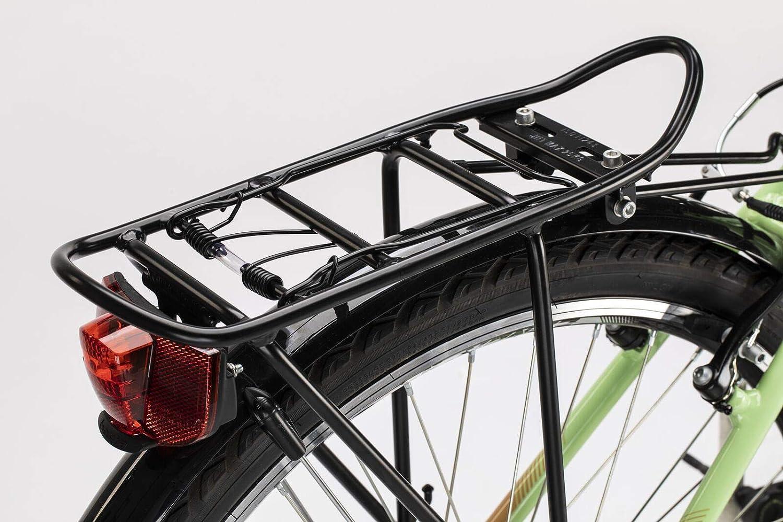 Conor Bicicleta Malibu Mixta Verde WM. Bicicleta para Ciudad Dos Ruedas. Bici Urbana para Adultos para Dar Paseos. Bike desplazarse cómodamente por la Ciudad. Ruedas 26 Pulgadas.: Amazon.es: Deportes y aire libre