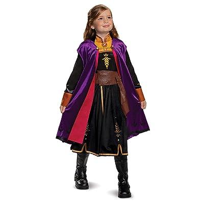 Disguise Disney Anna Frozen 2 Deluxe Girls' Halloween Costume: Toys & Games