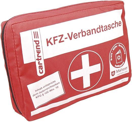 Cartrend 50211 Kfz Verbandtasche Österreich Inhalt Entspricht Österreichischem Kfg 102 Abs 10 Auto