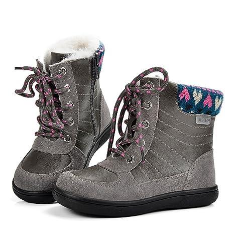SUNNY & Baby niños Martin botas de nieve Niños Invierno Cálido zapatos para niñas zapatos Toddler