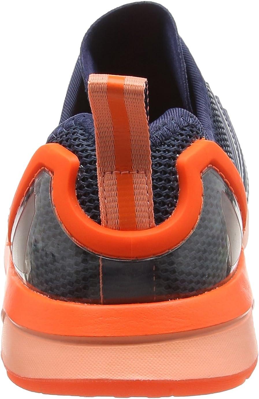 ADIDAS ORIGINALS Zx Flux ADV Blau (Mini Blue/Mini Blue/Solar Orangemini Blue/Mini Blue/Solar Orange)