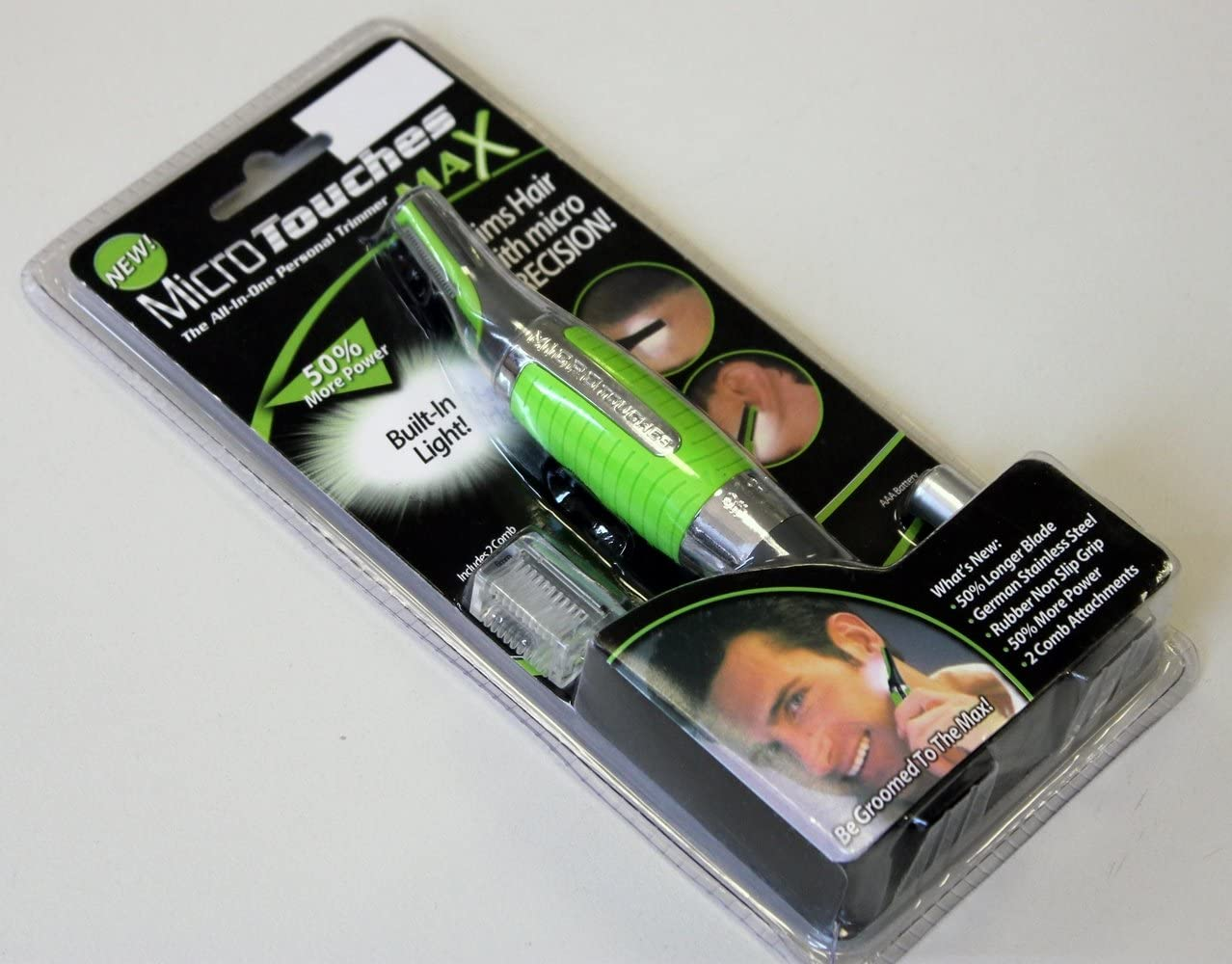 Cortapelos Precisión Micro Touches Max: Amazon.es: Salud y cuidado ...