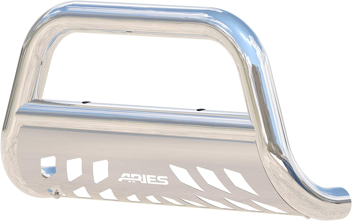 Aries Automotive 35-3006 Stainless Steel Bull Bar with Skid Plate