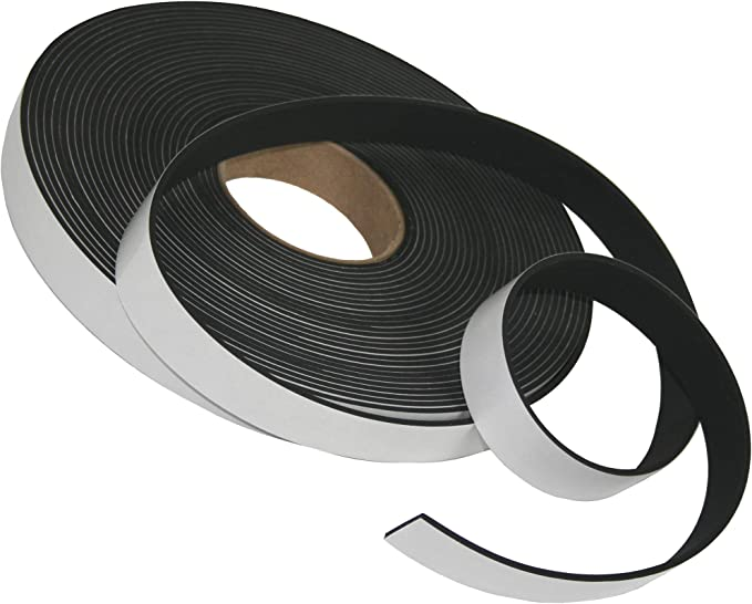 Solid Commercial Grade Neoprene Rubber Strip .062 thk x .500 Wide x 50 Long