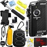 Nikon keymission 80防水HDウェアラブルWiFiアクションカメラwith 32GBモバイルPro Accessoryバンドル