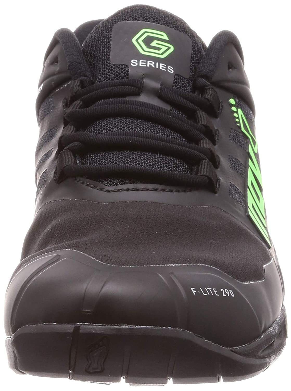 Inov-8 Mens F-Lite G 290 Running Shoe 000783-BKGR-S-01 Black//Green