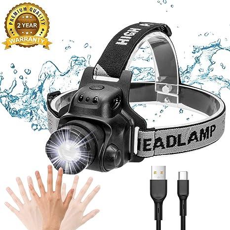 LED-Kopflampe mit 21 hellen LEDs Stirnlampe für Camping Ausflug Nachtangeln usw.
