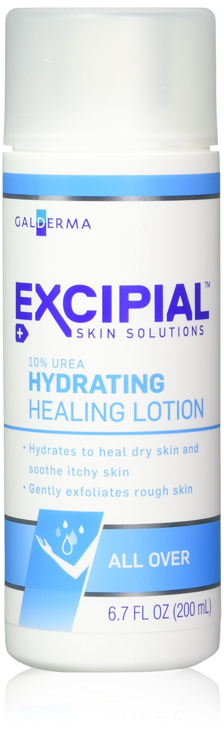 Excipial Urea Hydrating Healing Lotion, 6.7 Ounce, (Pack of 3)