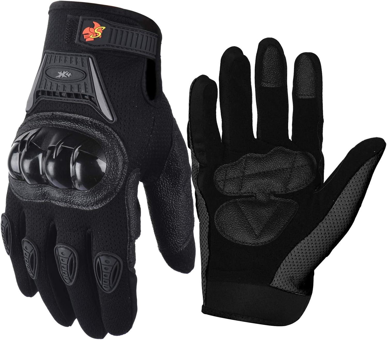 Various Sizes Black United BMX Gloves Signature Knitted