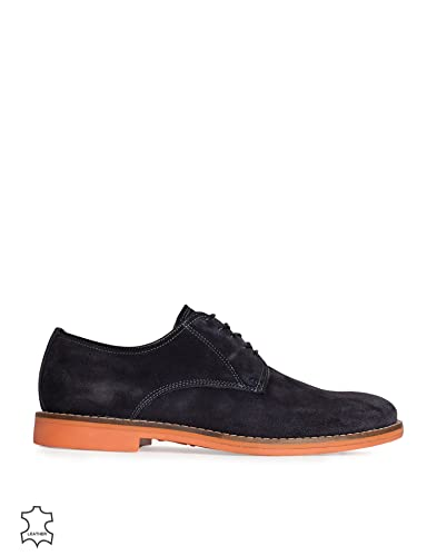 ebe250b720 Gant Men's Oliver Lace Shoe Navy/Red Size 45 100% leather. inside of leather.  rubber outsole.: Amazon.co.uk: Shoes & Bags
