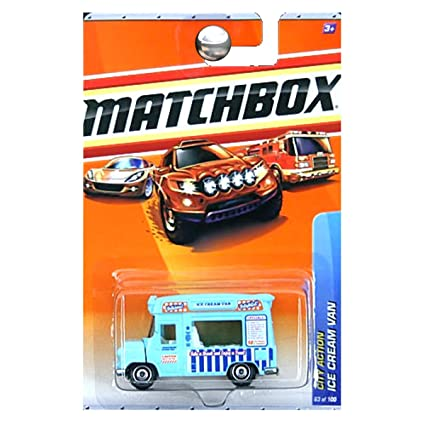 Matchbox 2010 Ice Cream Van (blue), City Action # 63/100,