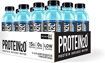 12-Pack Protein2o + Energy Low Calorie Protein Infused Water