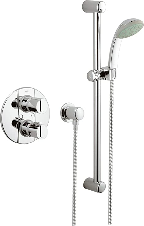 Grohe Grohtherm - Columna de ducha termostática empotrada Ref ...