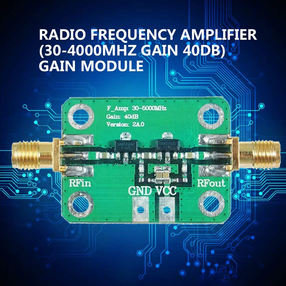 YXTFN 30-4000Mhz 40Db Gain Rf Broadband Amplifier Module for Fm Hf VHF/Uhf 50Ω UBS by Magicalworld (Image #2)