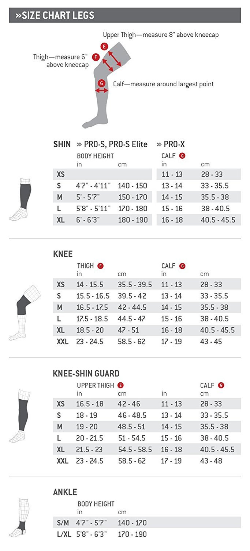 G-Form Pro-X Knee Pad (Black/Yellow, X-Large)