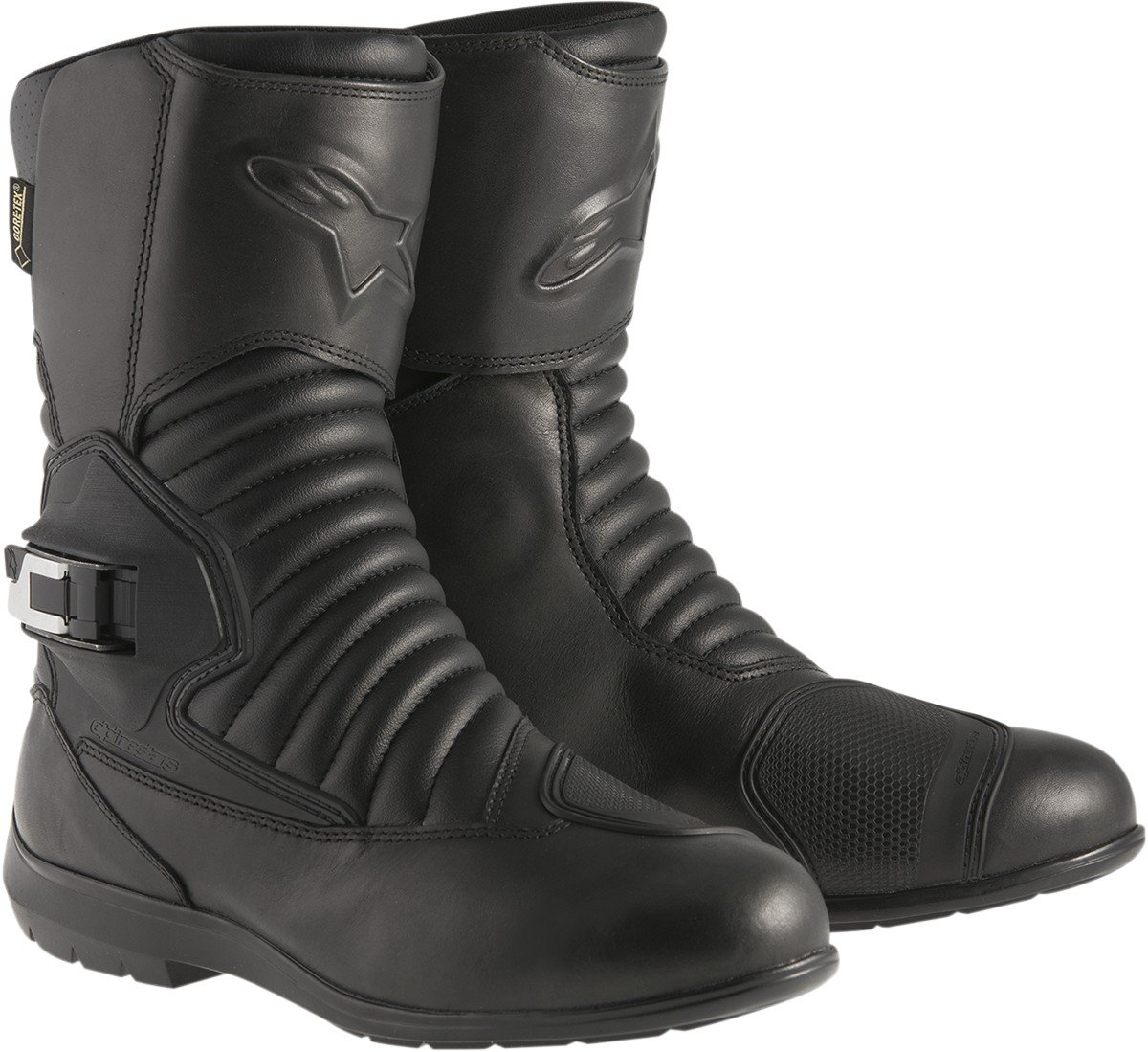Alpinestars Monofuse Gore-Tex Mens Tech Touring Motorcycle Boots Black, EU Size 37